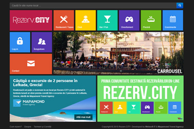 Portal de Rezervări Online <br> rezerv.city