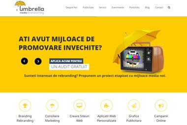 Umbrella Media <br>  umbrellamedia.ro