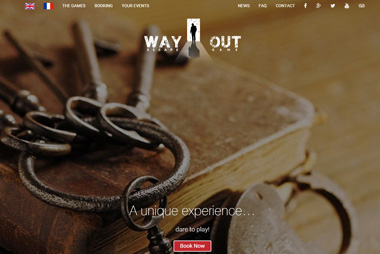 Way Out &#8211; Room Escape <br> wayout.fr