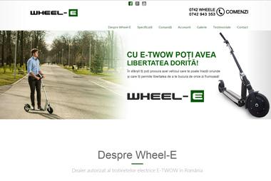 WHEEL-E <br> wheel-e.ro
