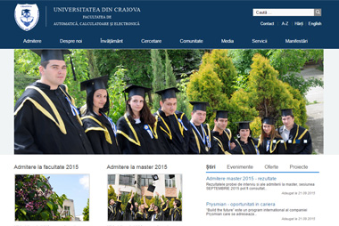 Portalul Universității din Craiova <br> ucv.ro