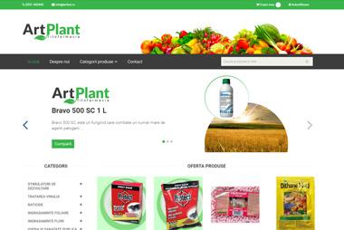 Art Plant &#8211; Magazin Online <br> www.art-plant.ro